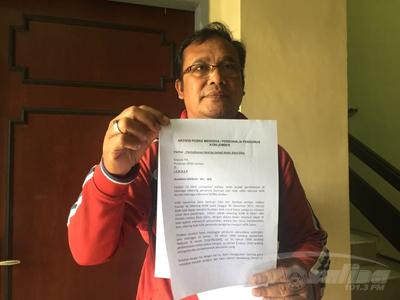Soal Pemblokiran Rekening Koni Anggota Posko Merdeka Kirim Surat